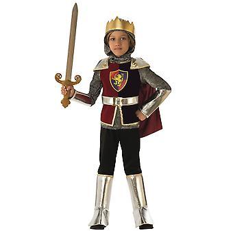 Knight Valiant middelalderlige renæssance Dragon Slayer Story bog uge drenge kostume