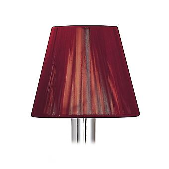 Mantra Clip On Silk String Shade Red Wine 80/130mm X 110mm