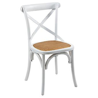 Wellindal Wooden Backrest Chair (Furniture , Chairs , Chairs)