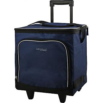 ThermoCafe roți cool bag Navy 28L