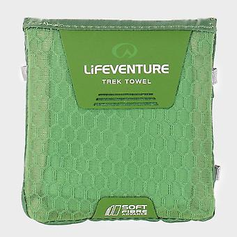 New Lifeventure Travelling Pocket Towel Green