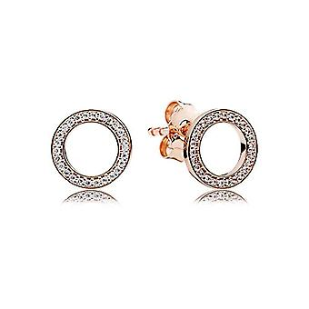 Pandora Silver Women's Stud Earrings - 280585CZ