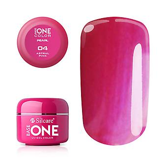 Base one-Pearl-Astral pink 5g UV gel