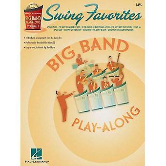 Swing Favorites: Bass [With CD] (Hal Leonard Big Band Play-Along)