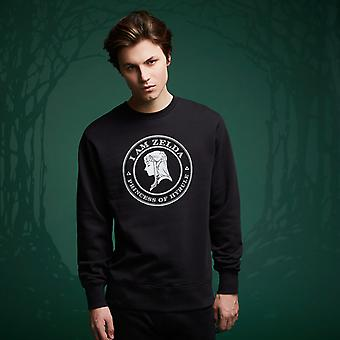 Legend Of Zelda I Am Zelda Sweatshirt - Noir