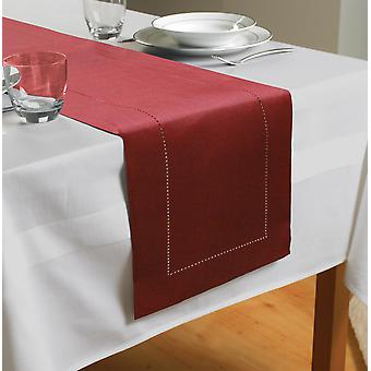 Country Club Table Runner, Czerwony