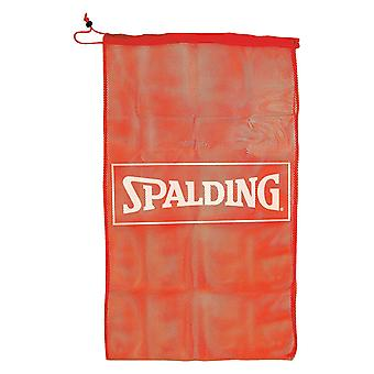 Spalding Basketball Sport Kit Compact Gym Training Mesh Drawstring Tasche