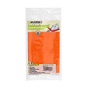 Marbet MB120.044 | Cotton Mending Fabric | Iron-On | 40 x 15cm | Orange