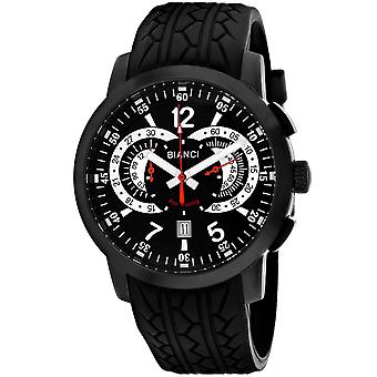 Roberto Bianci Men's Lombardo Black Dial Uhr - RB70965