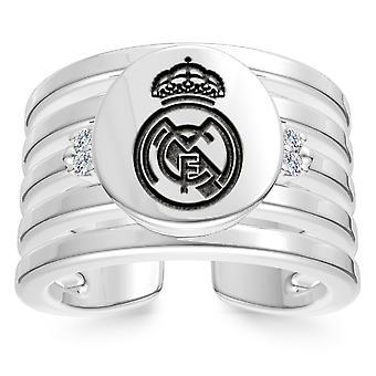 Real Madrid FC diamant ring i sterling sølv design af BIXLER