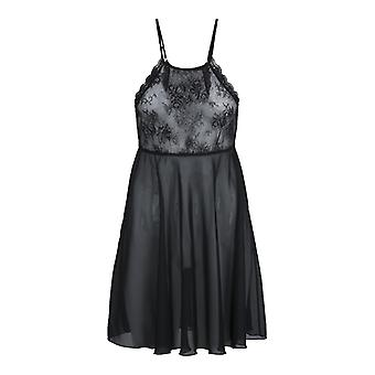 Vana Night Dress-Negro