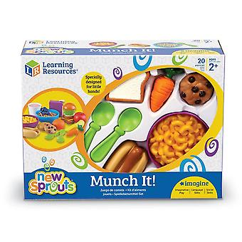 Learning Resources - New Sprouts Munch It Food Set