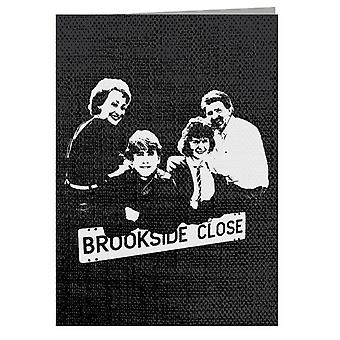TV Times Brookside Cast 1985 Greeting Card