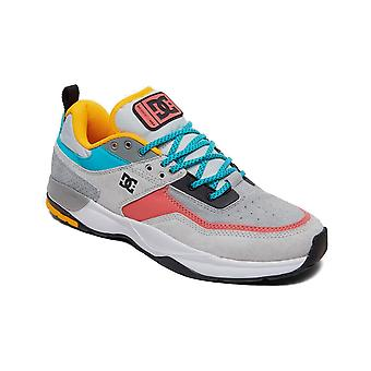 DC E.Tribeka SE Trainers in Grey/Grey/Blue