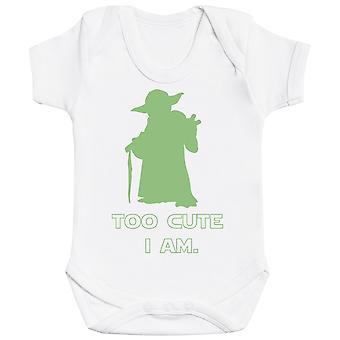 Too Cute I Am - Baby Bodysuit