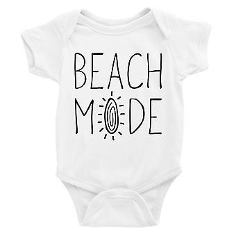 365 Drukowanie Beach Mode Body Body Dla Dzieci Prezent White Baby Boy Urodziny Baby Kombinezon