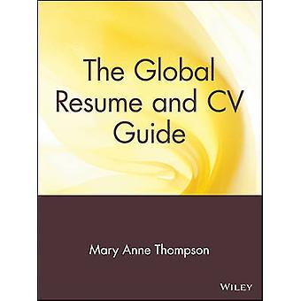 السيرة الذاتية العالمية ودليل السيرة الذاتية من قبل ماري آن طومسون -- 9780471380764