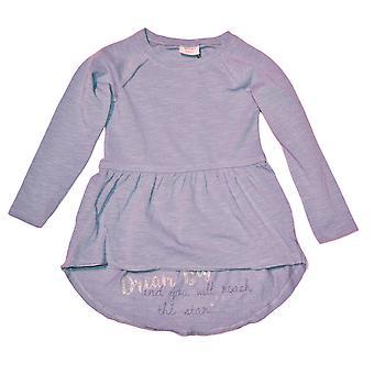 Violetti pitkähihainen mekko