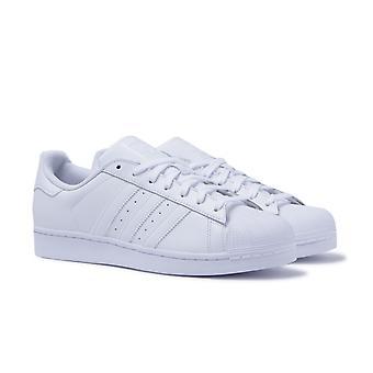 Adidas Originals Superstar Stiftung weißem Leder Trainer