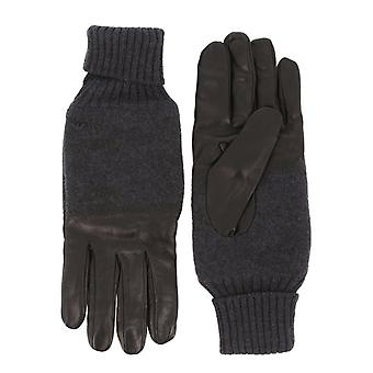 Emporio armani mężczyźni's rękawice, czarny