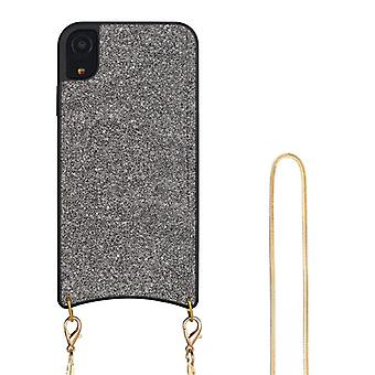 CaseGate phone chain for Apple iPhone XR phone chain necklace case cover