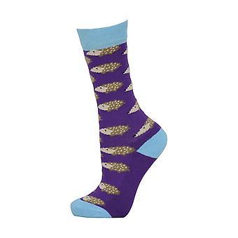 HyFASHION Childrens/Kids Hedgehog Socks (Pack of 3 Pairs)