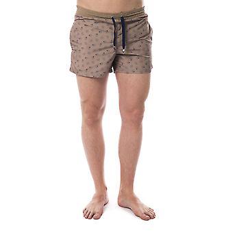 Maroon Bagutta men's swim shorts