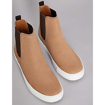 Amazon Brand - find. Men's Chelsea Boots, Brown Tan), US 11.5