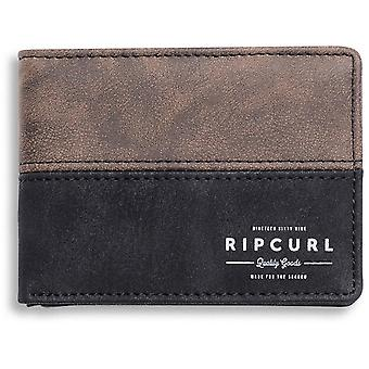 Rip Curl Arch RFID PU Slim Faux Leather Wallet in Brown