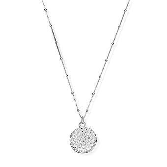 ChloBo SNBB721 Frauen's Mond Blume Halskette