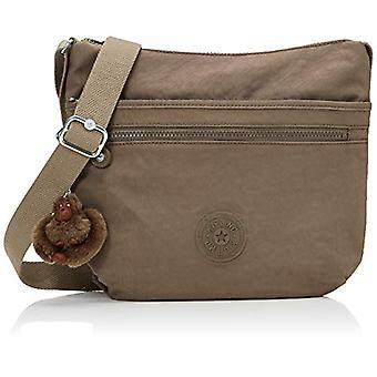 Kipling Arto - Women Brown Shoulder Bags (True Beige) 29x26x4 cm