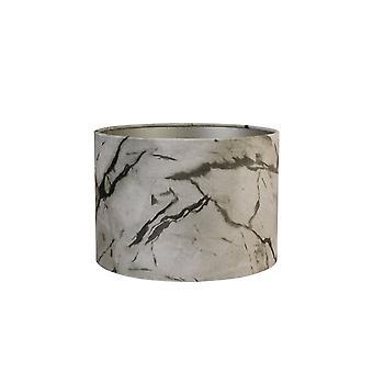 Licht & Living Zylinder Schatten 25x25x18cm MarmorSand