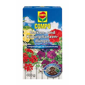 COMPO balcony and potted plant fertilizer, 400 g