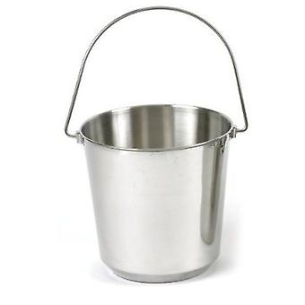 Classic For Pets St. Steel Pail (Dogs , Bowls, Feeders & Water Dispensers)