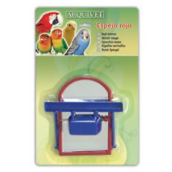 Arquivet Red mirror 10,5X10X3 Cm (Birds , Bird Cage Accessories , Mirrors)