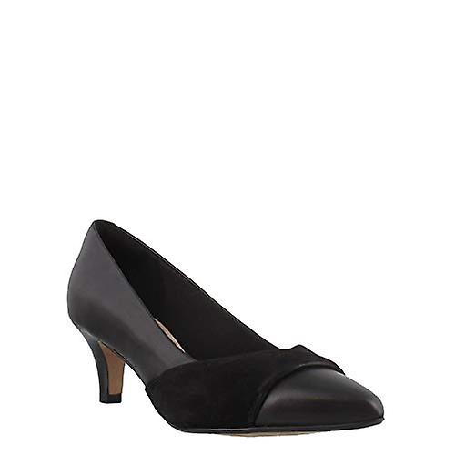 Clarks Womens Linvale Madie Leather Pointed Toe Classic Pumps