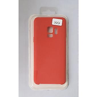 Silicone Cover Case for Samsung G960 S9 Red
