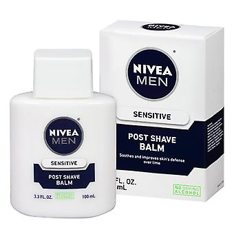 Nivea men post shave balm, sensitive, 3.3 oz
