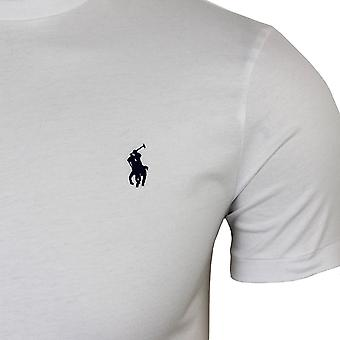 Ralph lauren men's white crew neck t-shirt
