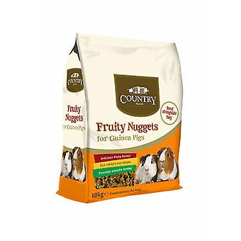 Country Value Fruity Guinea Pig Nuggets 10kg