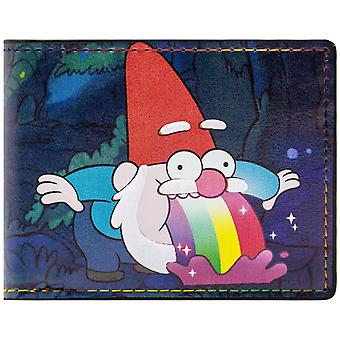 Gravity Falls Gnome ID & Card Bi-Fold Wallet