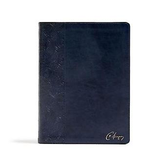 CSB Spurgeon Study Bible - Navy LeatherTouch by CSB Bibles by Holman