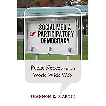 Social Media and Participatory Democracy: Public Notice and the World Wide Web