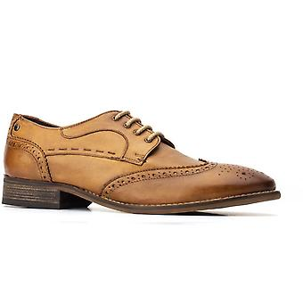 Base london men's kitchin softy lace up brogue various colours