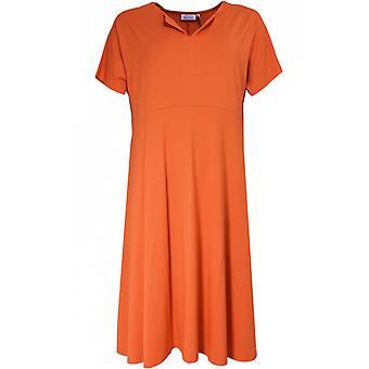 Masai klær nebala oransje jersey kjole