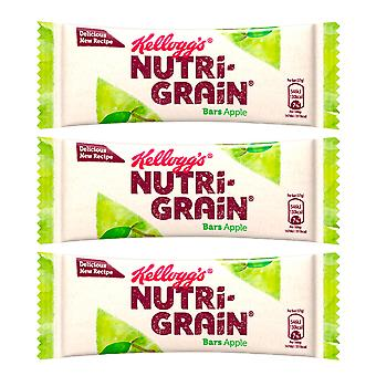 5 Bars x 37g Kellogs Nutri Grain Apple Healthy Food Voedzaam Lekker