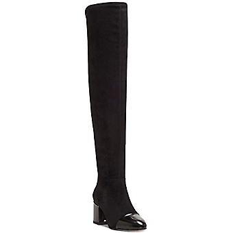 INC I.n.c. Frauen's Alvita Over-The-Knee Stiefel Schwarz Größe 5M