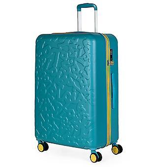 Lois Zion Trolley L, 4 wielen, 49 cm, 79,5 L, turquoise
