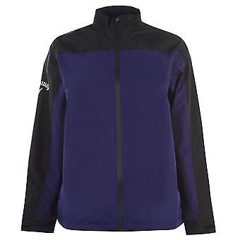 Callaway Mens Waterproof Jacket Full Zip Long Sleeve Lightweight Waterproof Top