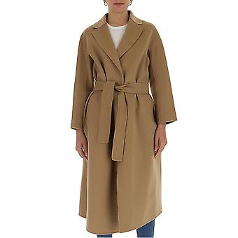 'S Max Mara 90111301600700033 Femmes-apos;s Beige Wool Coat